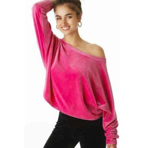 NWT Juicy Couture Velour Dolman Pullover sz 3X